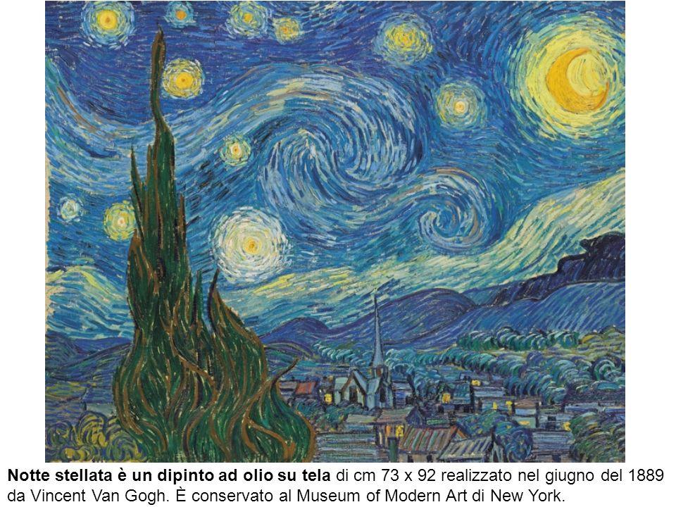 Notte stellata è un dipinto ad olio su tela di cm 73 x 92 realizzato nel giugno del 1889 da Vincent Van Gogh.