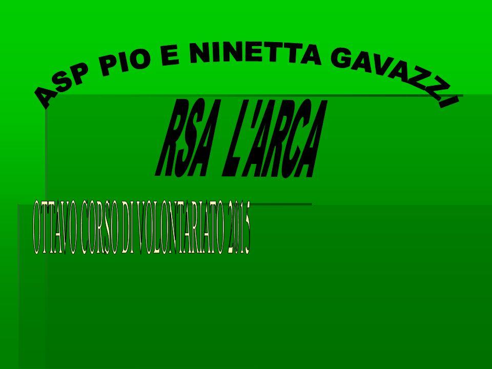 ASP PIO E NINETTA GAVAZZI RSA L ARCA