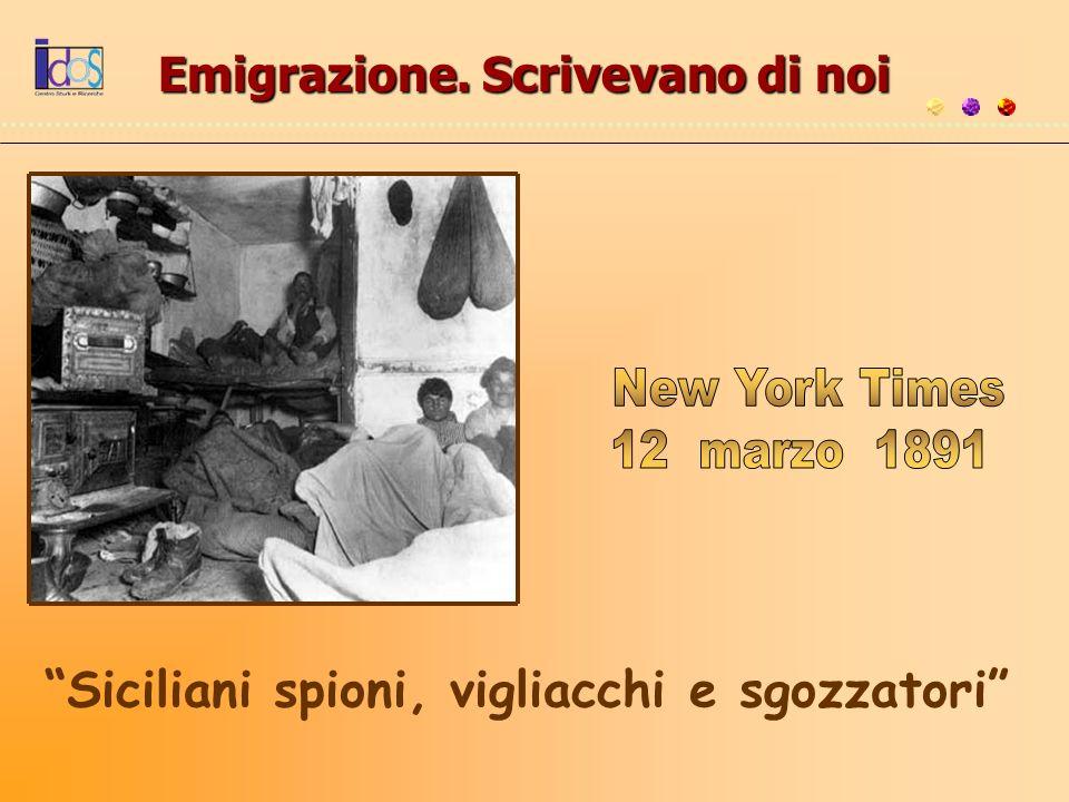 Emigrazione. Scrivevano di noi
