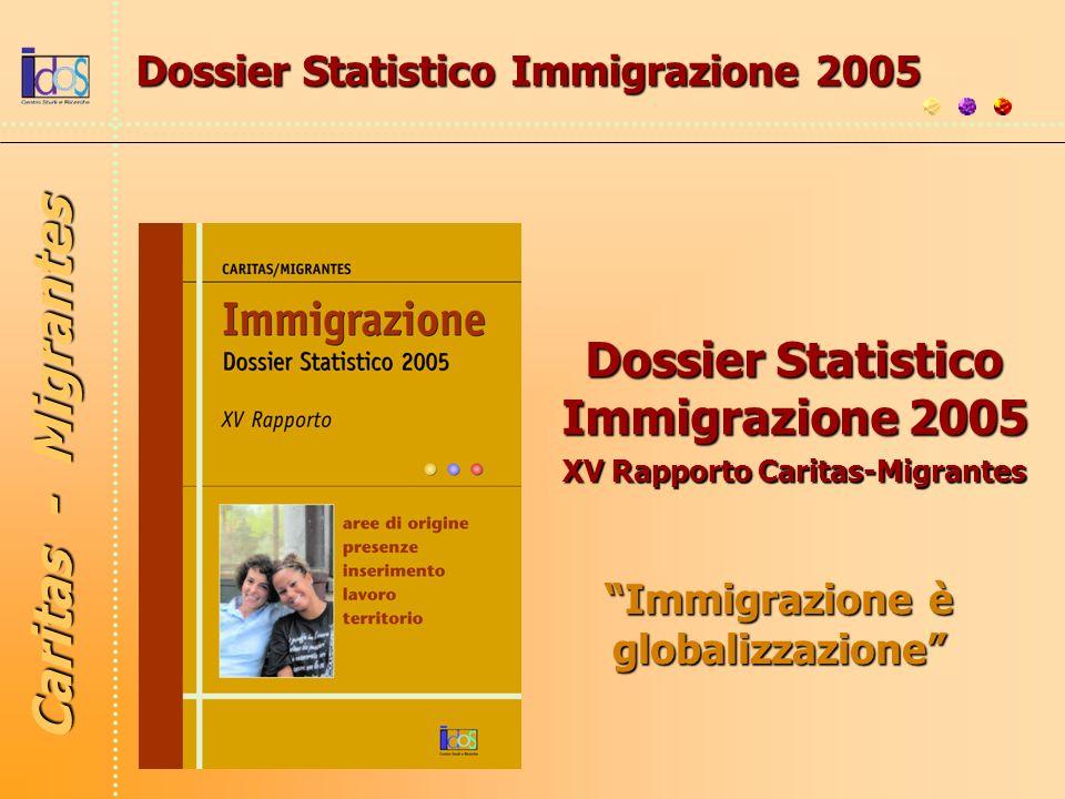 Caritas - Migrantes Dossier Statistico Immigrazione 2005