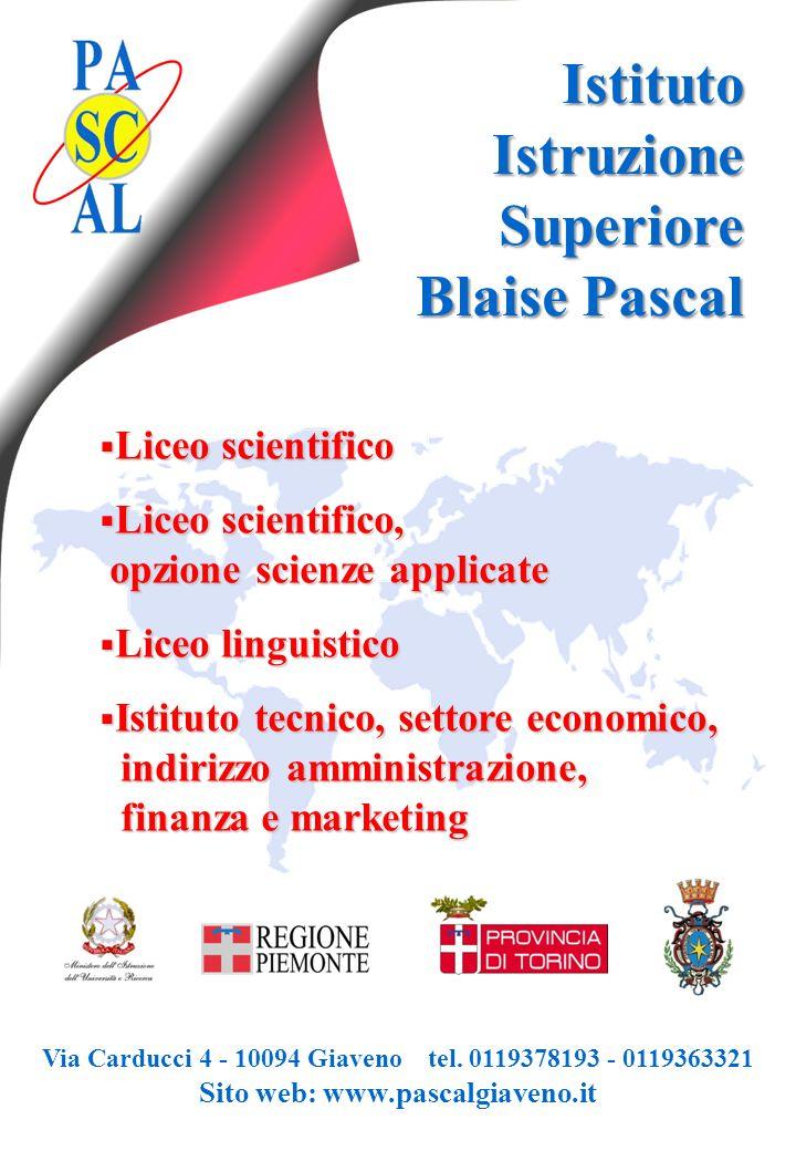 Via Carducci 4 - 10094 Giaveno tel. 0119378193 - 0119363321