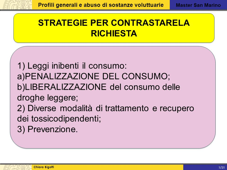 STRATEGIE PER CONTRASTARELA RICHIESTA