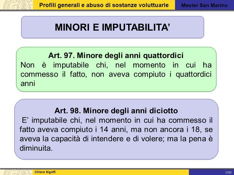 MINORI E IMPUTABILITA'
