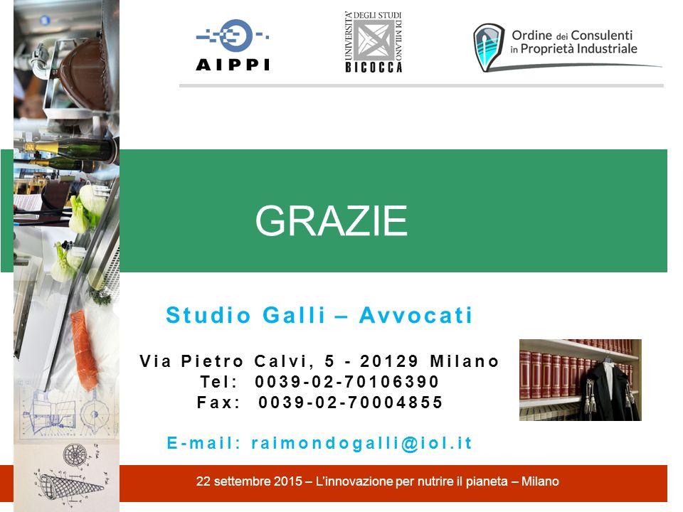 GRAZIE Studio Galli – Avvocati