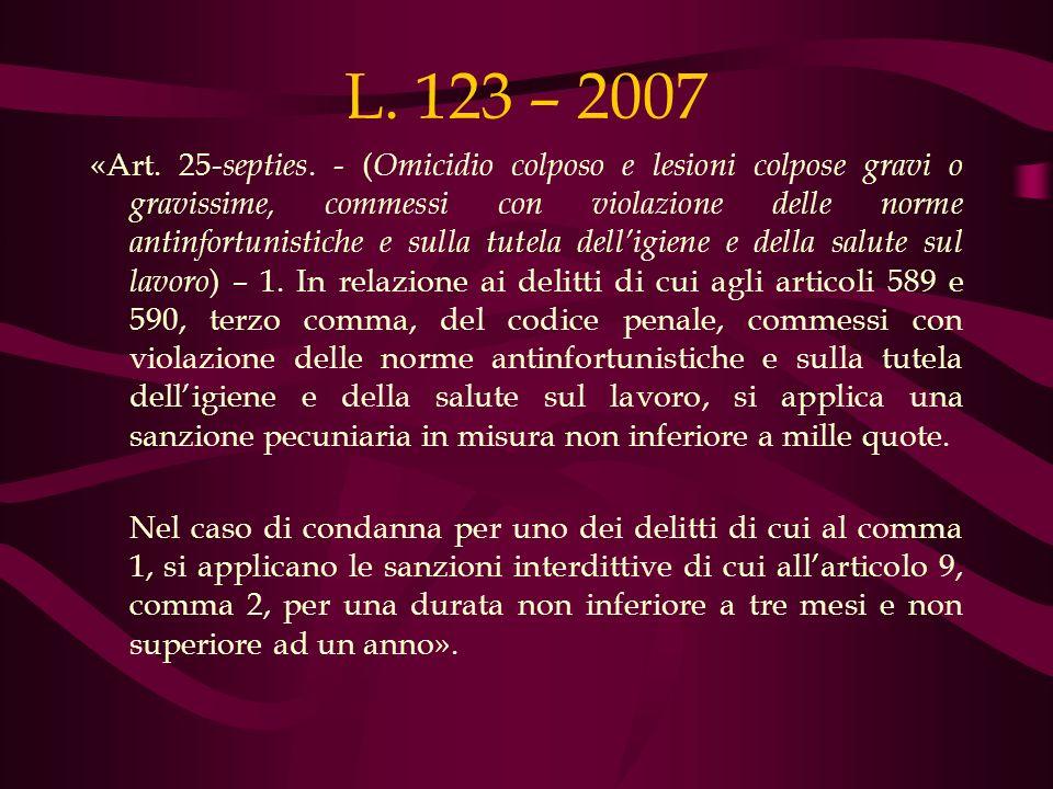 L. 123 – 2007