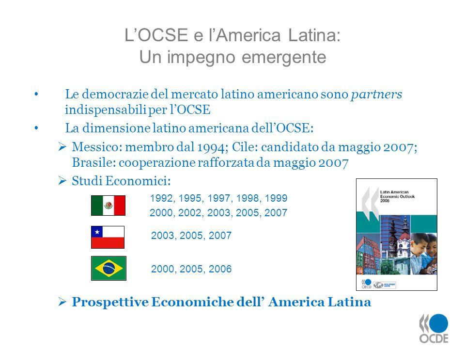 L'OCSE e l'America Latina: