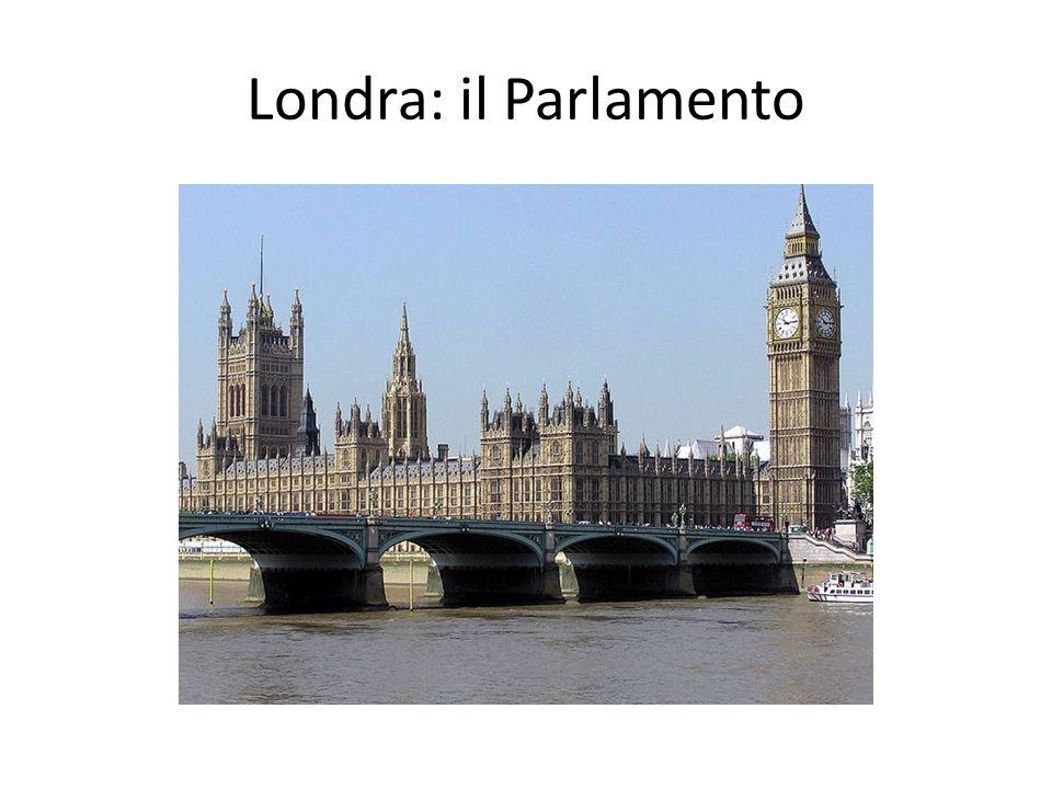 Londra: il Parlamento