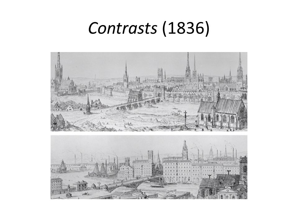 Contrasts (1836)