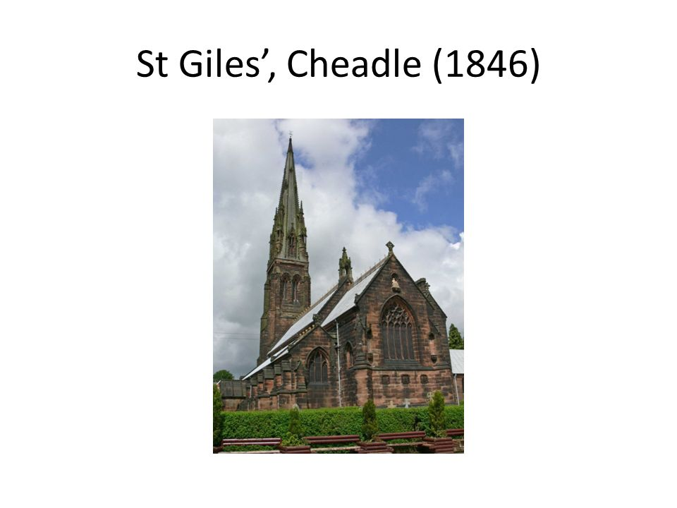 St Giles', Cheadle (1846)