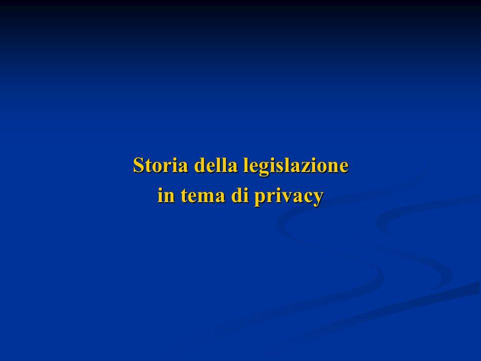 Storia della legislazione