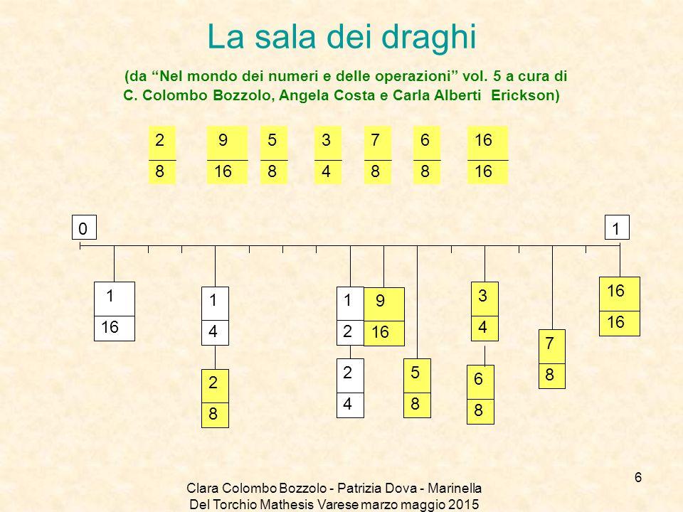 La sala dei draghi (da Nel mondo dei numeri e delle operazioni vol