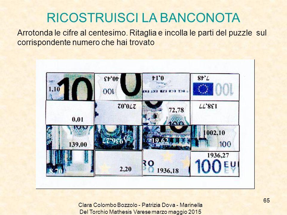 RICOSTRUISCI LA BANCONOTA
