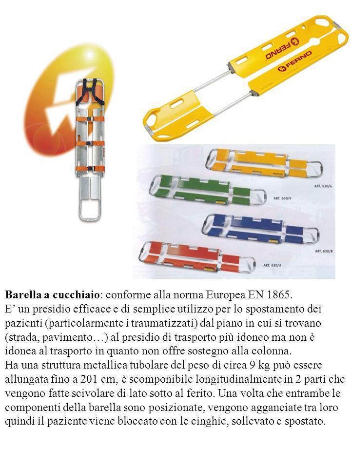 Barella a cucchiaio: conforme alla norma Europea EN 1865