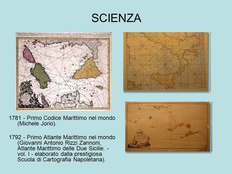 SCIENZA 1781 - Primo Codice Marittimo nel mondo (Michele Jorio).