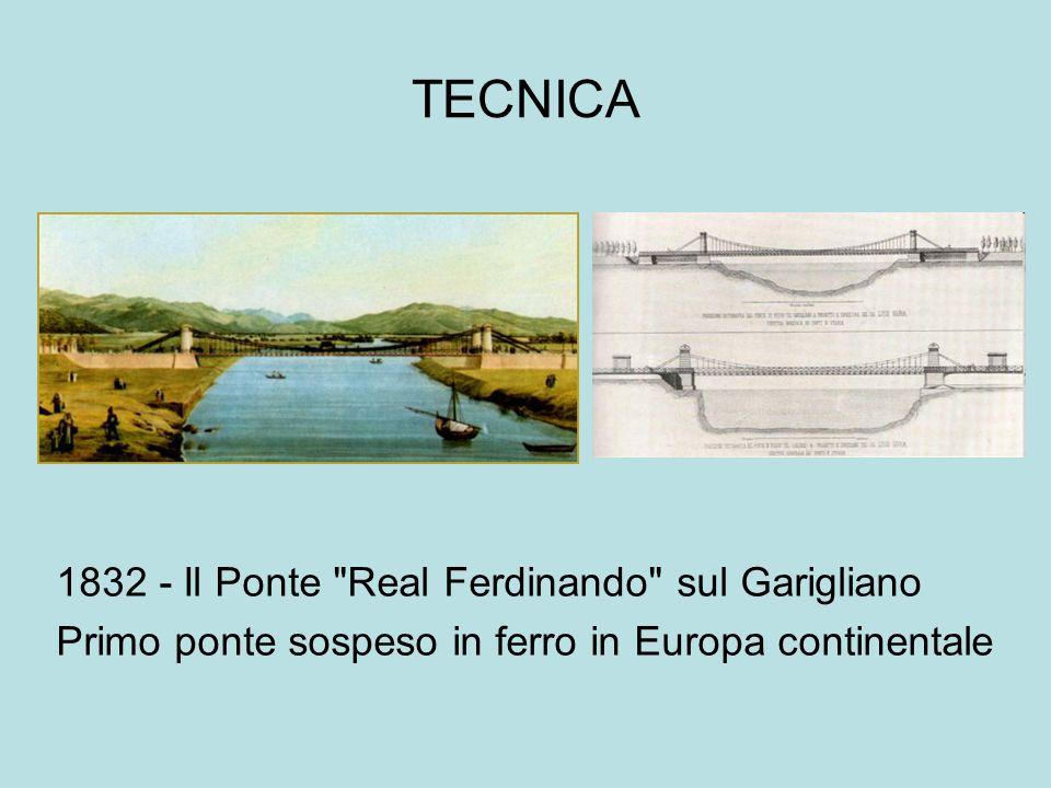 TECNICA 1832 - Il Ponte Real Ferdinando sul Garigliano
