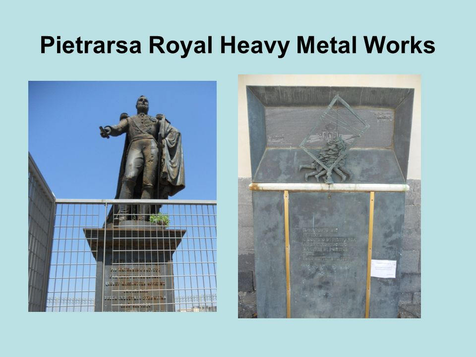 Pietrarsa Royal Heavy Metal Works