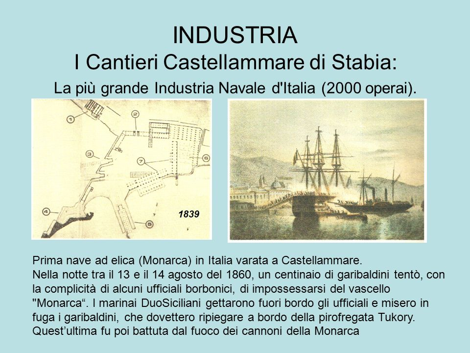 INDUSTRIA I Cantieri Castellammare di Stabia: