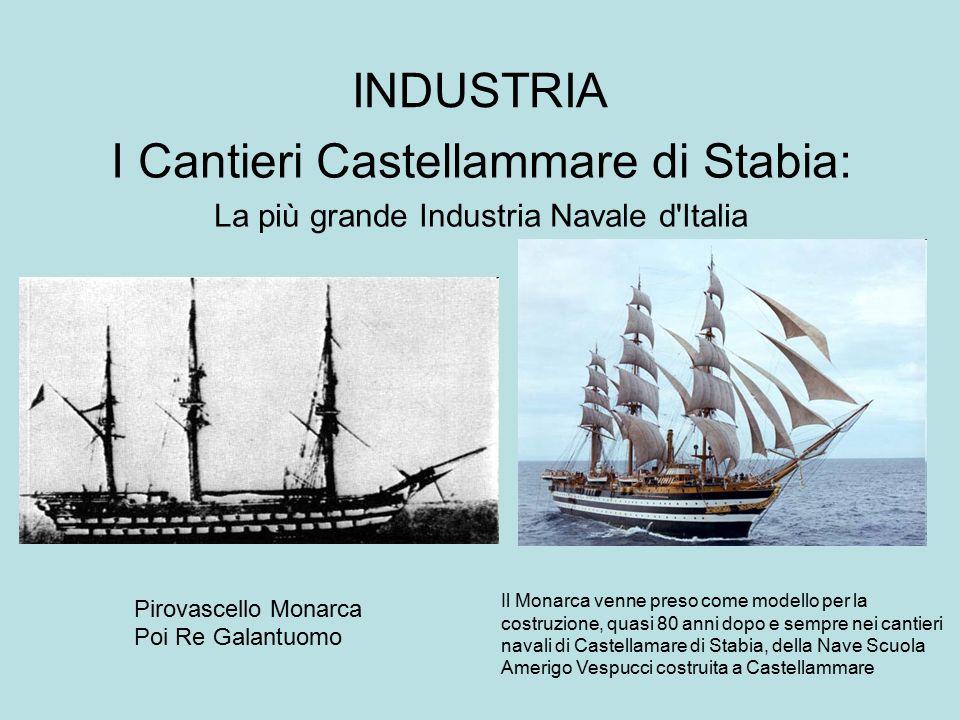 I Cantieri Castellammare di Stabia: