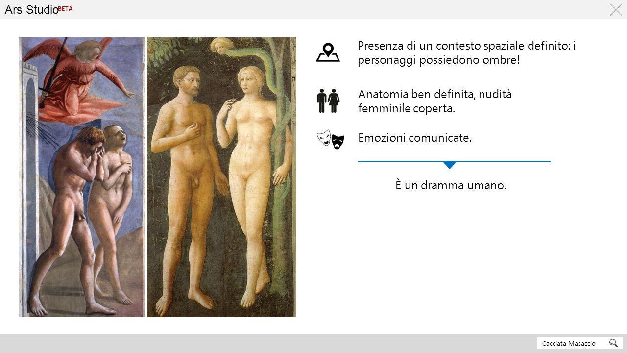 Anatomia ben definita, nudità femminile coperta.