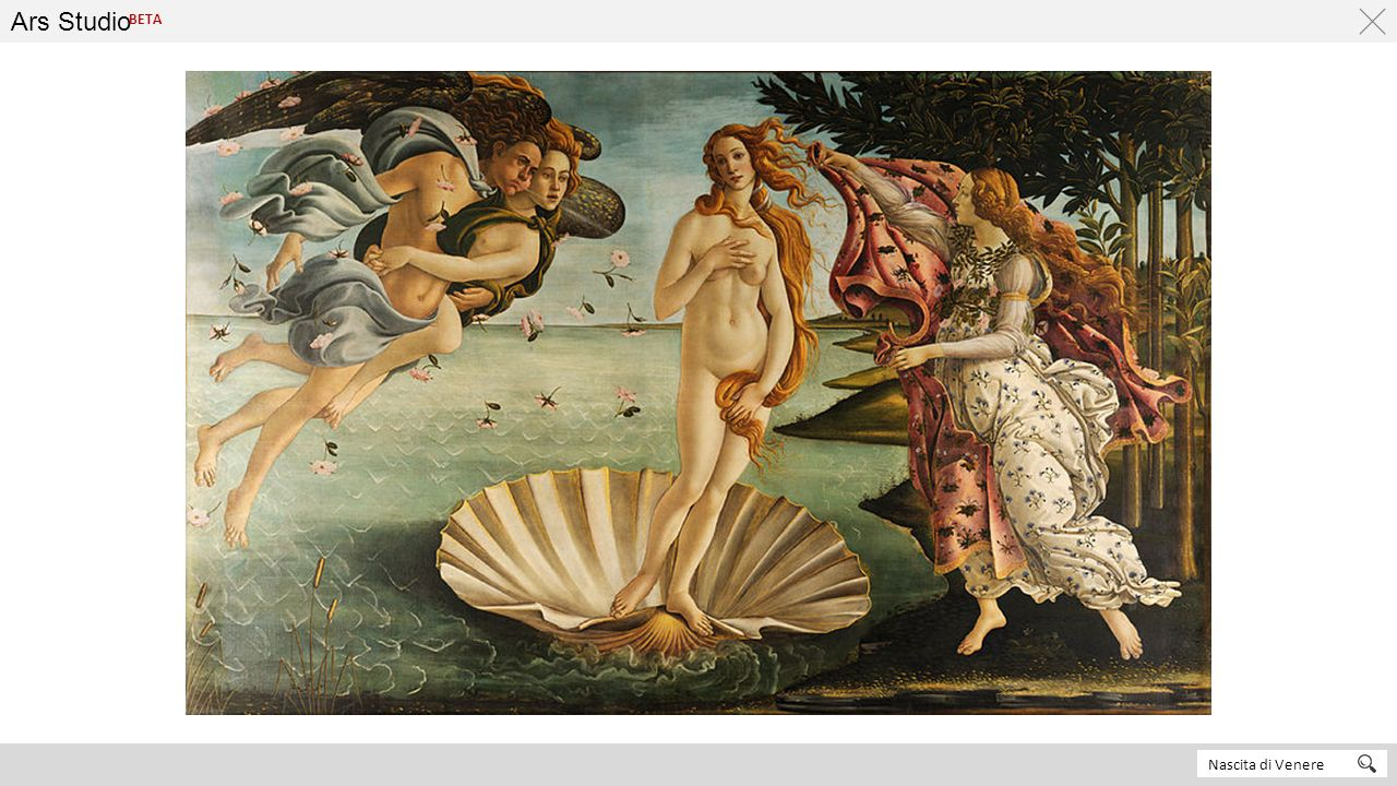Ars Studio BETA Nascita di Venere