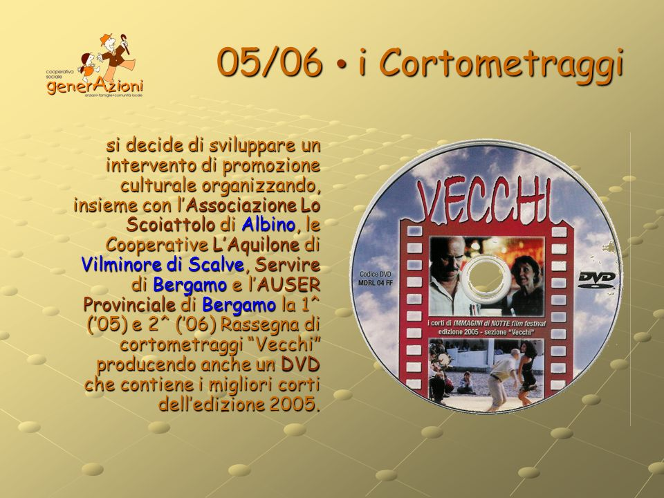 05/06 • i Cortometraggi