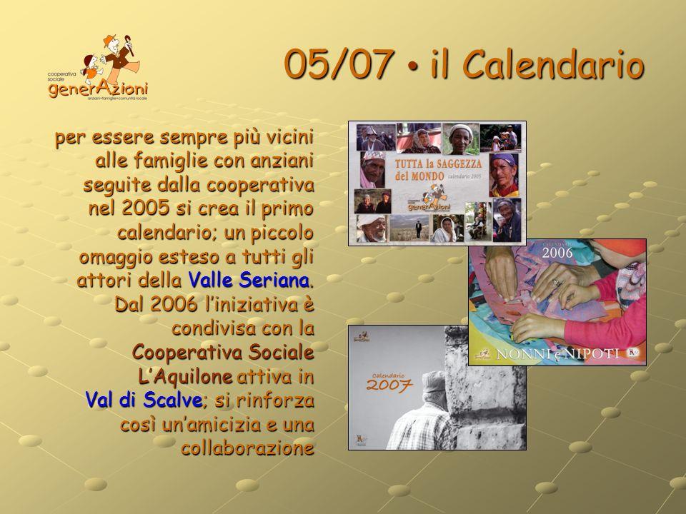 05/07 • il Calendario