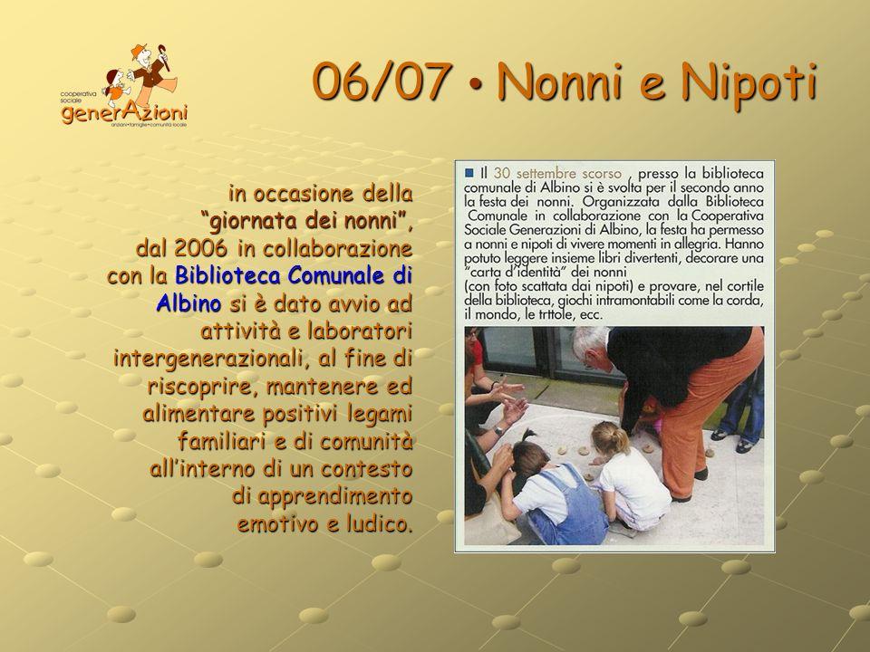 06/07 • Nonni e Nipoti