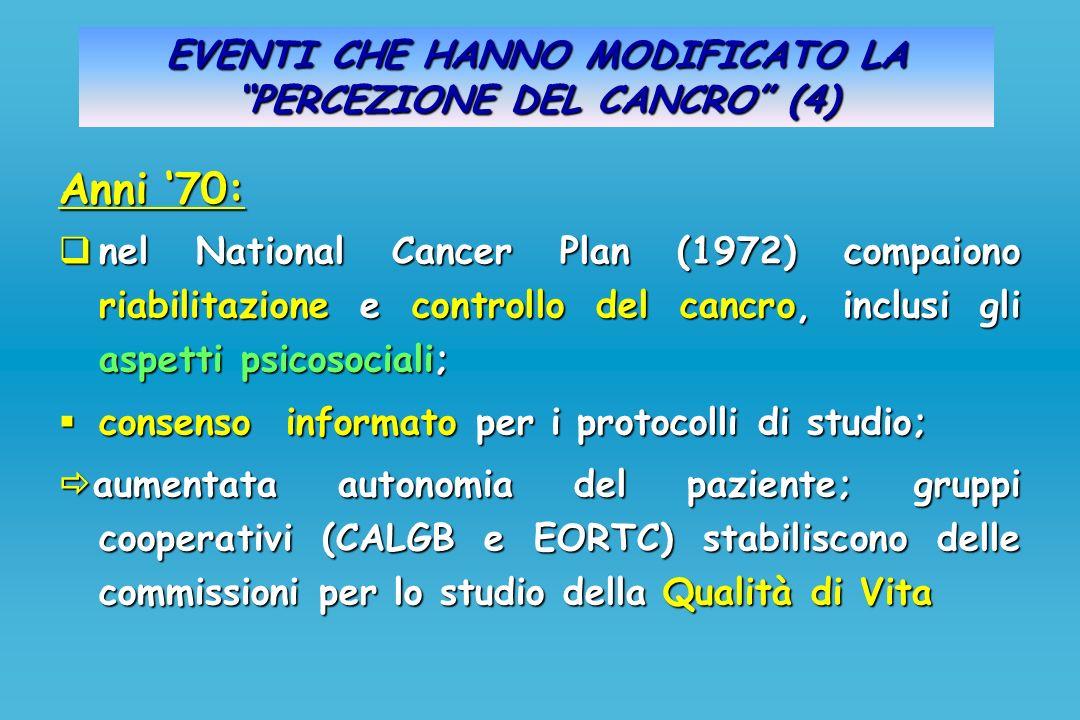 EVENTI CHE HANNO MODIFICATO LA PERCEZIONE DEL CANCRO (4)
