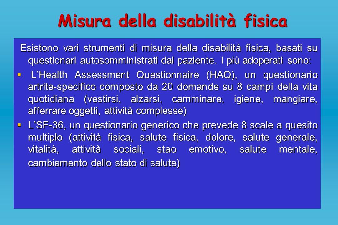 Misura della disabilità fisica