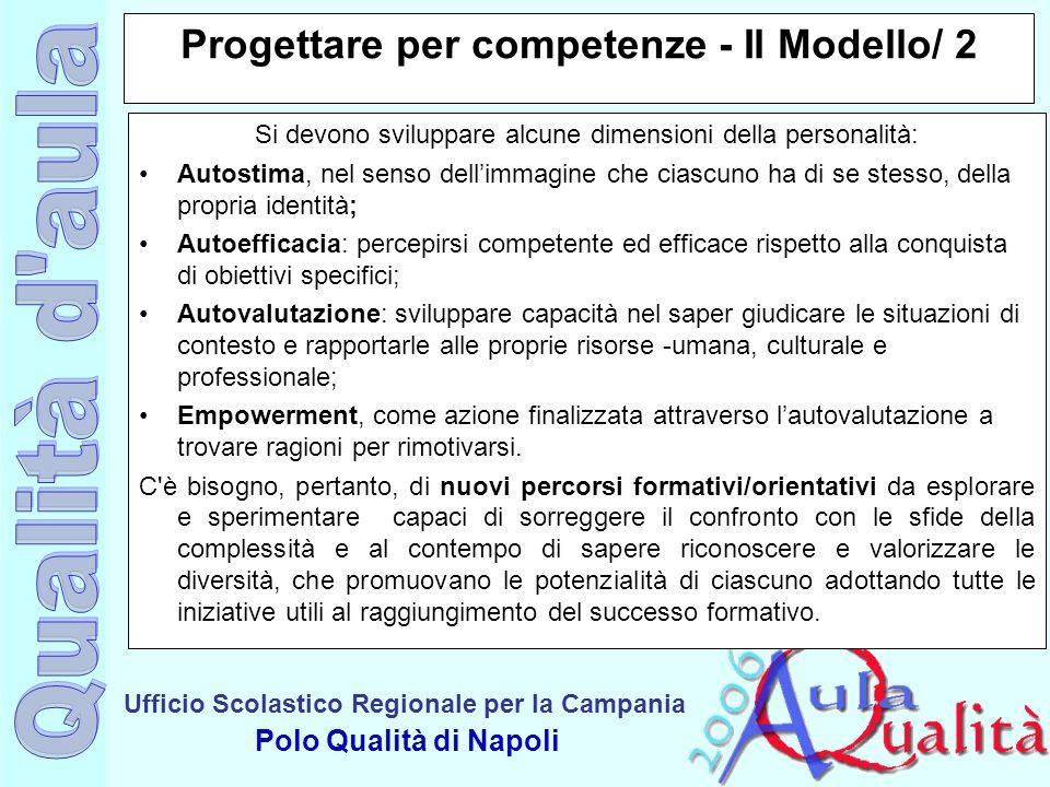Progettare per competenze - Il Modello/ 2