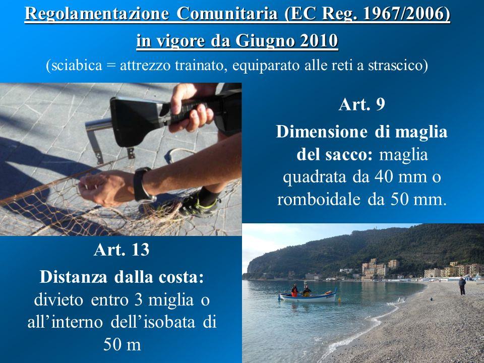 Regolamentazione Comunitaria (EC Reg. 1967/2006)