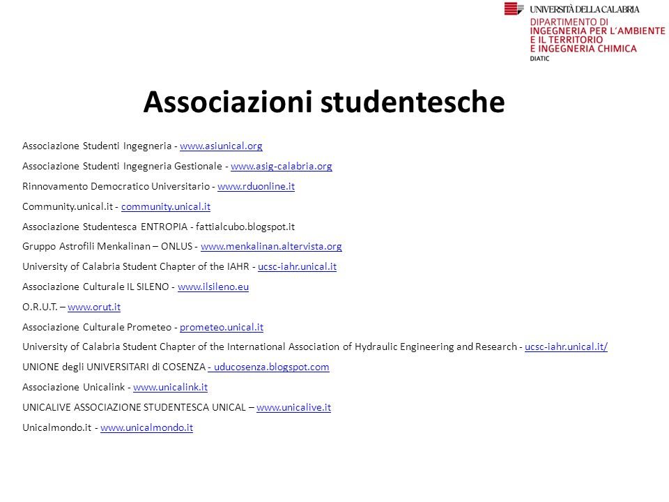 Associazioni studentesche