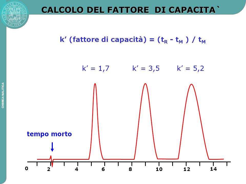 CALCOLO DEL FATTORE DI CAPACITA`