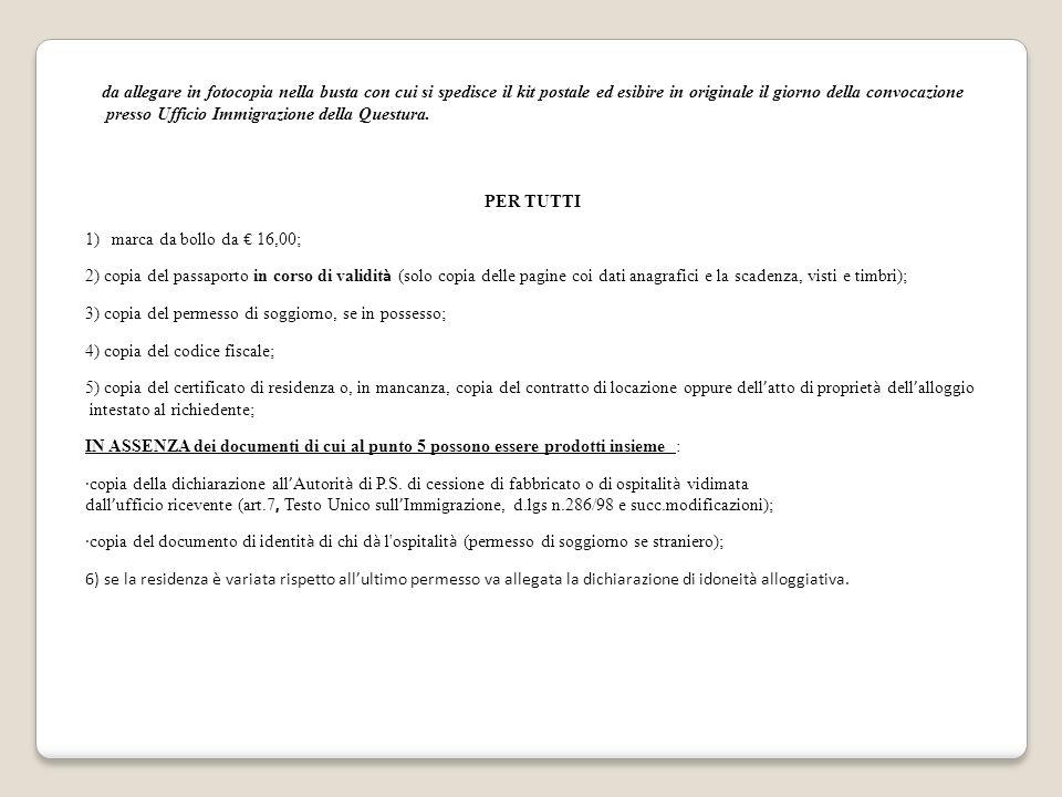 Awesome Elenco Permessi Di Soggiorno Questura Di Brescia Pictures ...