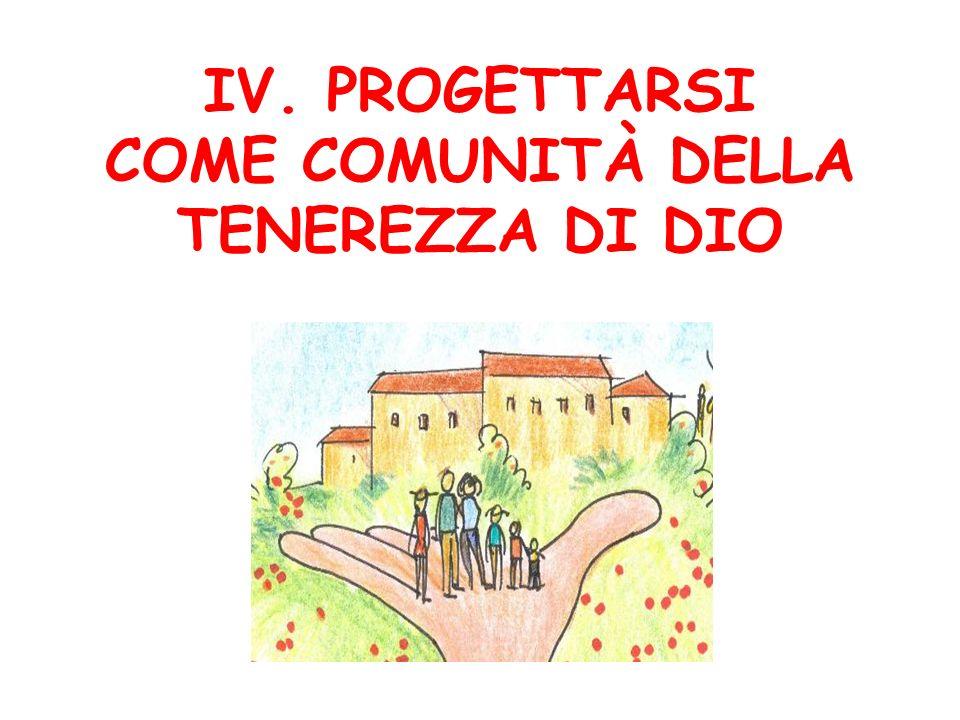 COME COMUNITÀ DELLA TENEREZZA DI DIO