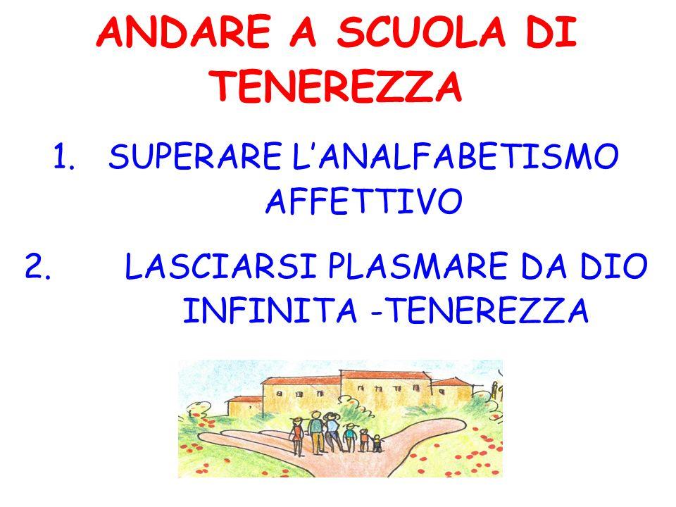 ANDARE A SCUOLA DI TENEREZZA