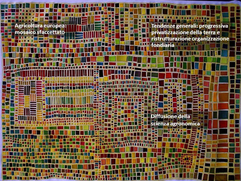 Agricoltura europea: mosaico sfaccettato