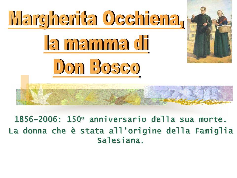 Margherita Occhiena, la mamma di Don Bosco