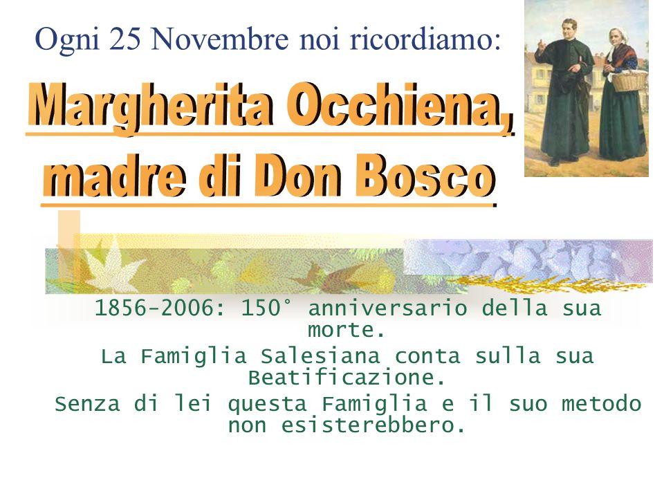 Margherita Occhiena, madre di Don Bosco