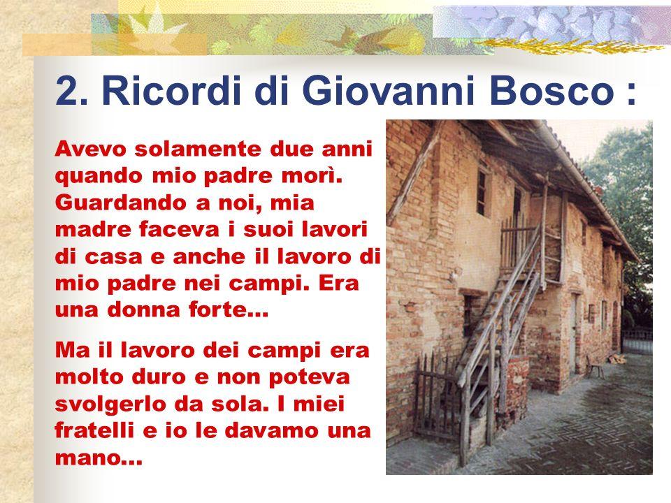 2. Ricordi di Giovanni Bosco :