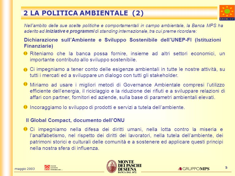 2 LA POLITICA AMBIENTALE (2)