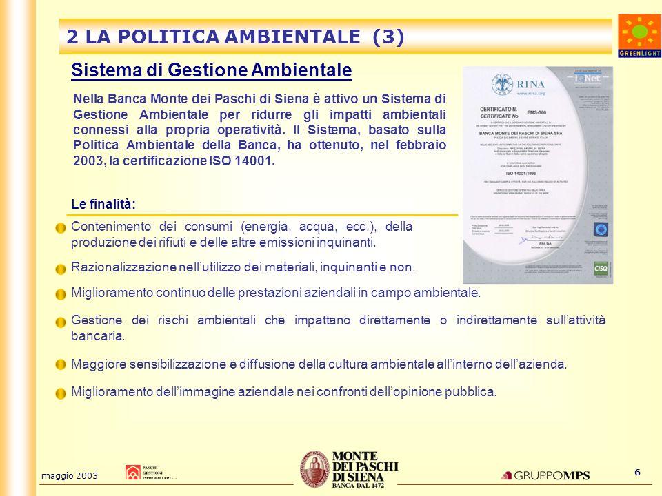 2 LA POLITICA AMBIENTALE (3)