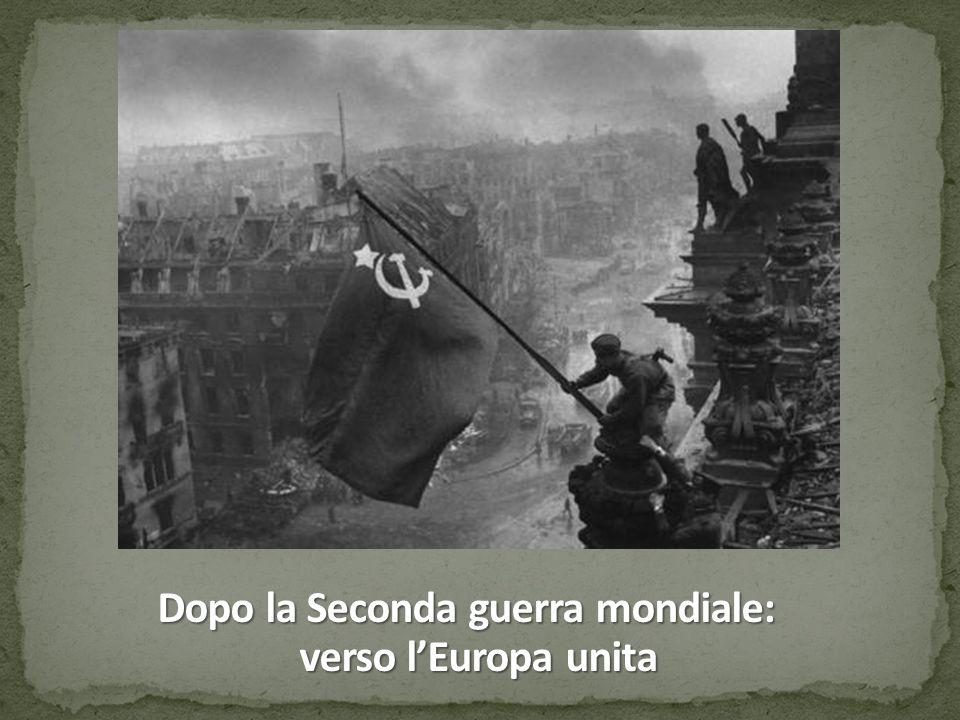 Dopo la Seconda guerra mondiale: