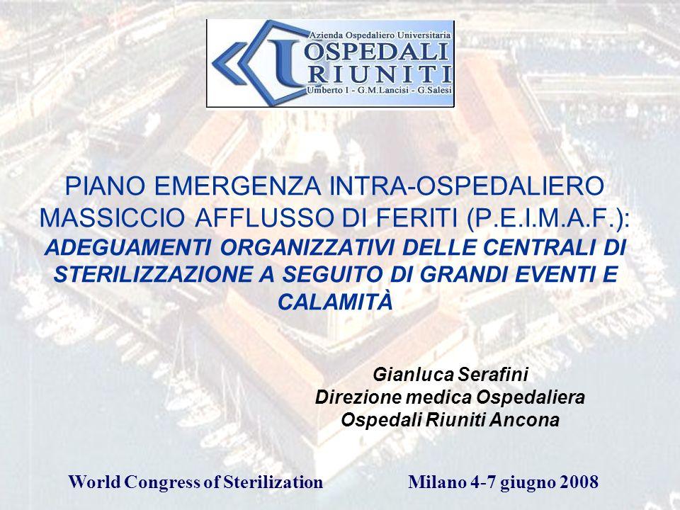 Gianluca Serafini Direzione medica Ospedaliera Ospedali Riuniti Ancona