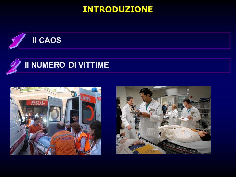 INTRODUZIONE Il CAOS 1 2 Il NUMERO DI VITTIME