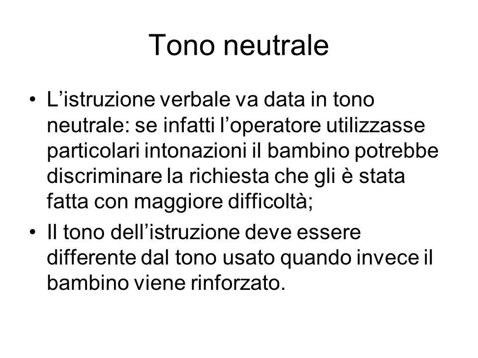 Tono neutrale