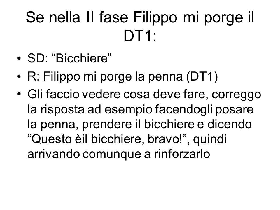 Se nella II fase Filippo mi porge il DT1: