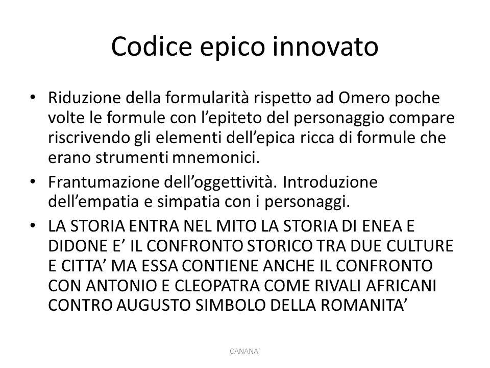 Codice epico innovato
