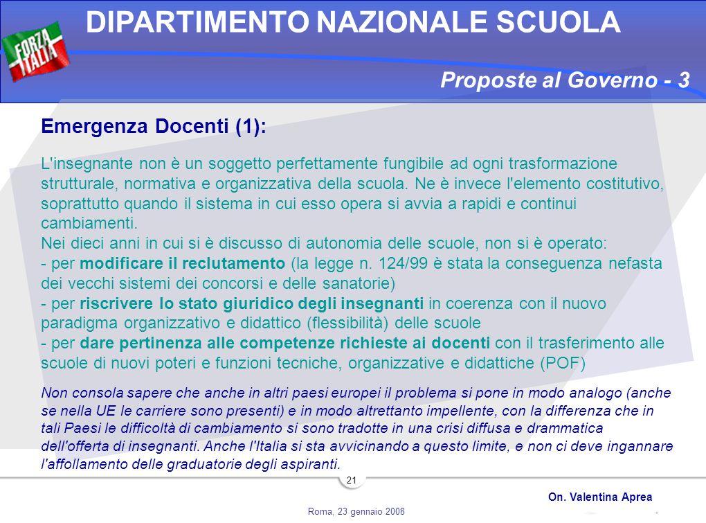 Proposte al Governo - 3