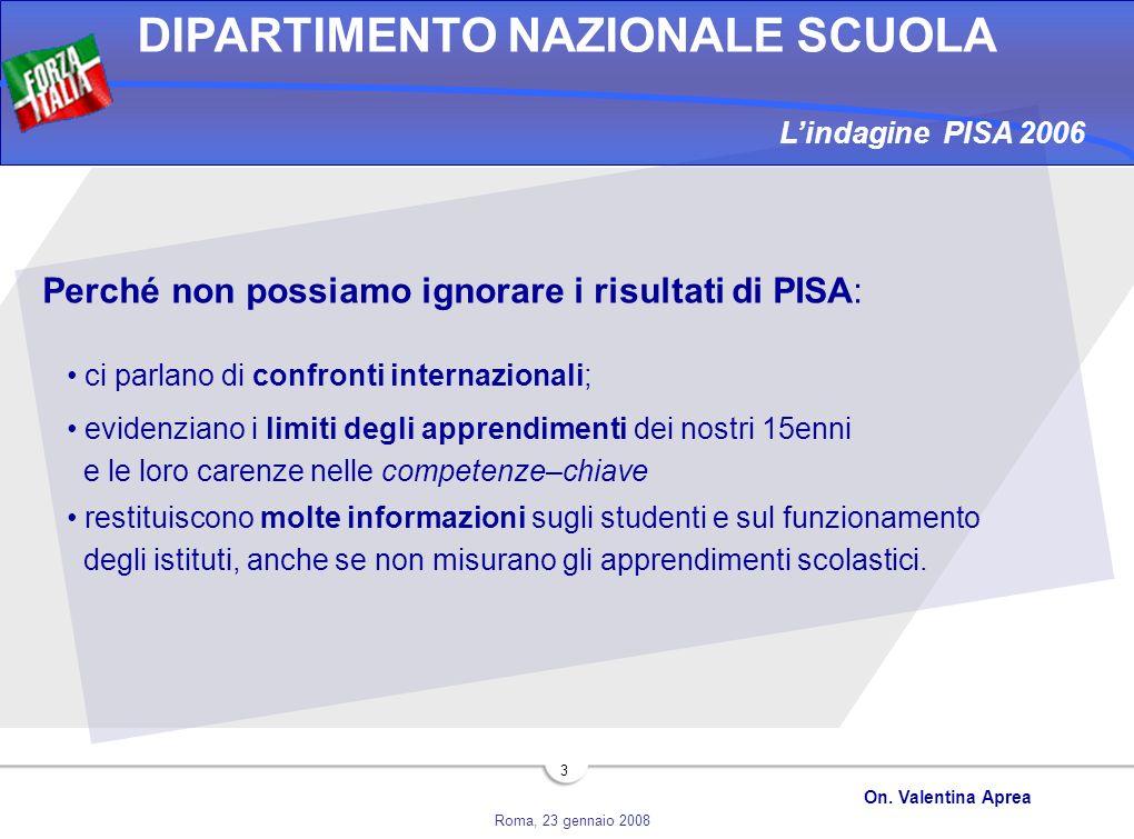 Perché non possiamo ignorare i risultati di PISA: